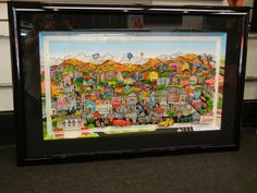 """BRAND NE PIECE!!    """"You're Going To Hollywood!""""  Framed with our special framing!   As seen at Art One Gallery! """"like"""" us for discounts! http://on.fb.me/lbfN8n"""