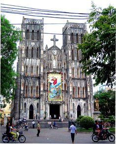 Hanoi Church, Hanoi City, Vietnam