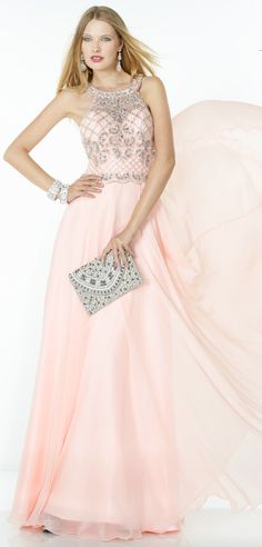 Never run out of compliment SHOP HERE: https://www.prom-avenue.com/alyce-paris-1067-embellished-top-prom-dress/