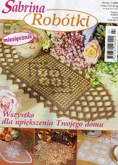 Revista crochet. Manteles.