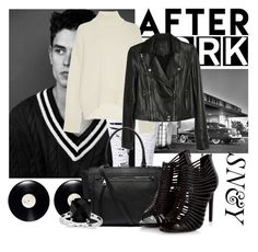 """""""6"""" by sicksense on Polyvore featuring moda, WithChic, Brock Collection, Paige Denim, Witchery i Blue Nile"""