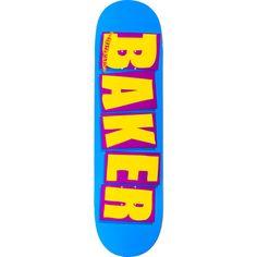 Brand new Baker Brand Logo Deck - now at Warehouse Skateboards! Baker Skateboards, Blue Yellow, Purple, Skate Art, Skateboard Decks, Phone Cases, Logo, Warehouse, Skateboards