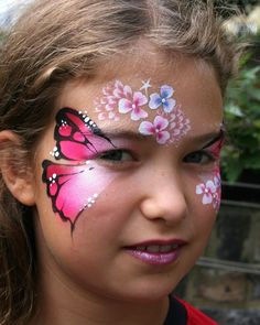 zombie face painting kids - Google Search
