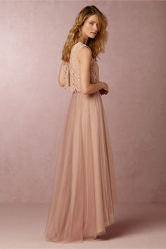 BHLDN Cleo Top & Petal Skirt in  Bridesmaids View All Dresses at BHLDN