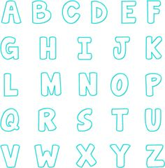 The Fat Dolphin Machine Applique Font Set includes Uppercase letters, Numbers and all of the following sizes: 3? 4? & 5?