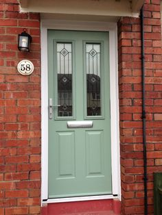 Composite Front Door In Similar Colour To Farrow Amp Ball