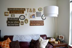 At Home in #PDX // #GalleryWall - Along the Way Blog #HomeDecor