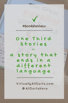 Looking for a book that introduces your child to a new language?  Then read my review of One Third Stories.  It's a learning adventure! Learn A New Language, My Passion, Creative Writing, How To Introduce Yourself, Third, About Me Blog, Thoughts, Book Reviews, Learning