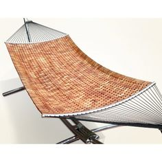 Vifah Naturalist Wood Hammock Bed Hammock Bed, Modern Patio, Outdoor Living, Living Spaces, Contemporary, Wood, Furniture, Home Decor, Modern Courtyard