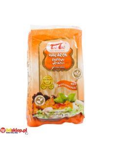 Makaron Ryżowy Wstążka  • delikatny makaron ryżowy • subtelny smak • dodatek i podstawa wielu dań • doskonały do smażenia i zup