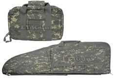 "2x NcSTAR 45"" Digital ACU Hunting Nylon Tactical RIFLE PISTOL Gun Bag Case"