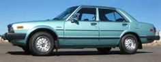 honda accord 4 door sedan green 1980 - Yahoo Image Search Results  ~ looks like my old one...