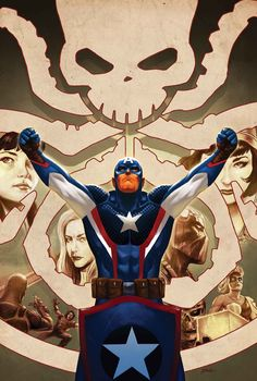 The Red Skull marches across Europe, and S.H.I.E.L.D. comes apart at the seams! Steve opens a door – and the secret behind it will shake the Universe to its core…
