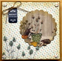 The Potting Shed, finished with stickles and Glossy Accents Fun Crafts, Paper Crafts, Craftwork Cards, Scrapbook Cards, Scrapbooking, Birthday Woman, Masculine Cards, Craft Work, Greeting Cards