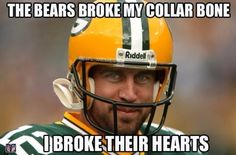 PACKERS FOOTBALL FRIDAY: Back At It - http://packerstalk.com/2014/11/07/packers-football-friday-back-at-it/ http://packerstalk.com/wp-content/uploads/2014/11/94201-Aaron-Rodgers-meme-the-bears-b-7yAv.jpeg