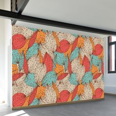 Colorful Autumn Wall Mural