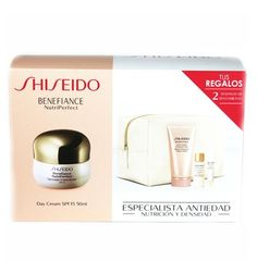 Estuche Shiseido Benefiance Nutriperfect Crema Dia 50 ml
