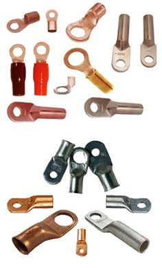 #CopperTerminal #CopperCableTerminal    We are offering precision engineered copper cable terminals. We are one of the leading manufacturers of quality copper cable terminals. Copper Terminals, Copper Cable Terminals, Manufacturer and exporter of copper cable terminals, copper cable lugs,