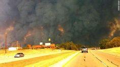 Wildfire in Bastrop (2011)