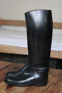 Bottes cavalières AIGLE Noir