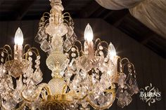 i love the chandeliers in our barn...