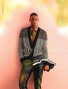 David Agbodji for Botteha Veneta S/S 12.