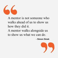 and we should be grateful to our mentors!