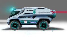 Mercedes Unimog RRC by Nacho Cuesta Grandío, via Behance