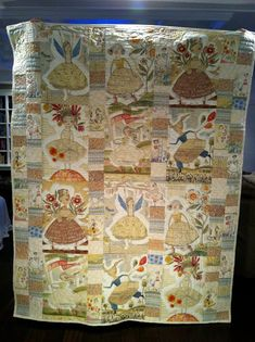 Reversible Patchwork Quilt Twin or Lap by NeedlewomanDesigns, $399.00