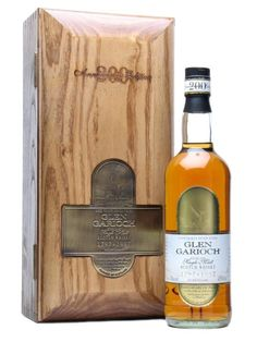 Glen Garioch Bicentenary 37 year old Highland Single Malt Scotch Whisky bottled 1997.  Estimated price of one bottle in pounds sterling l,225.-.