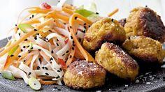 Billig mad: Tundeller med nudelsalat