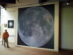 Museum Wallpaper- No photo can do this justice, On the wall in the planetarium, it is absolutely spectacular! Visit McAuliffe-Shepard Planetarium in Concord ...