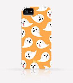 Halloween Ghost iPhone Case,iPhone 6 Case, iPhone 6 Plus Case, iPhone 5 Case, iPhone 5c case, Samsung case, S5 Case, S6 Case, iPhone 4 Case by kiwihen on Etsy https://www.etsy.com/listing/202460139/halloween-ghost-iphone-caseiphone-6-case