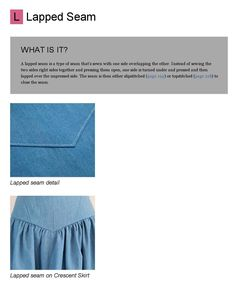 #ClippedOnIssuu from The sewtionary an a to z guide to 101 sewing te