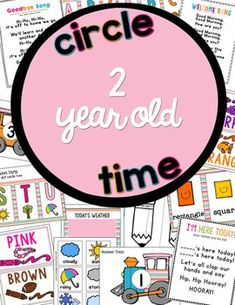 UPDATED!2 Year Old Time PackThis pack has everything you need to create an age-appropriate circle time for your youngsters!Included:-Easy to read instructions-Alphabet Strip (note alphabet strip only features uppercase letters to reduce confusion for new learners)-Color Posters (8)-Shape Cards (6)-Weather Chart and weather cards-Number Train (1-10)-Who's Here?