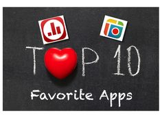 Top 10 Favorite Apps for the Classroom