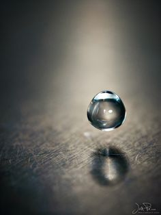 Water Drop Suspended In Time