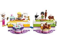 Die große Backshow 41393 | Friends | Offiziellen LEGO® Shop DE Bolo Lego, Lego Cake, Lego Store, Creative Play, Creative Food, Lego Sets, Building Sets For Kids, Child Room, Games