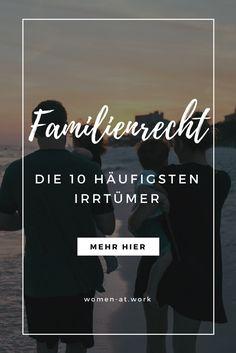 """""""Eine Ohrfeige ist schon ok"""" – Die 10 häufigsten Irrtümer im Familienrecht"""