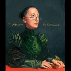 Minerva McGonagall Harry Potter and the Philosopher's Stone Jim Kay illustration