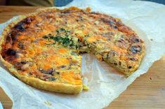 CIBULOVÝ QUICHE SE SLANINOU Czech Recipes, Savoury Cake, Quiche, Healthy Life, Food And Drink, Pizza, Cooking Recipes, Bread, Breakfast