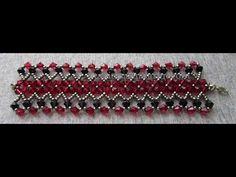 Kristal Boncuklu Kalın Bileklik Yapımı | Takı Tasarımları