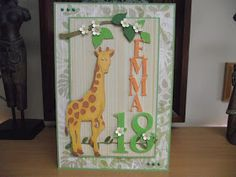 jiminy japes: A giraffe for Emma!.........