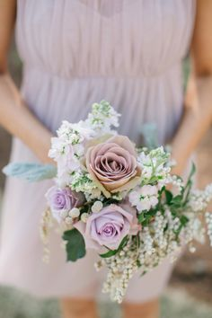 Elegant lavender: http://www.stylemepretty.com/virginia-weddings/2015/04/06/whimsical-diy-coastal-wedding/ | Photography: We Are The Mitchells - http://www.jeremymitchellcinema.com/