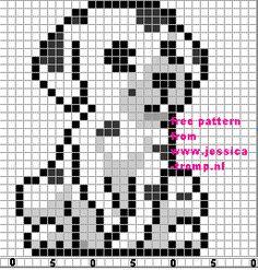 borduren honden kruissteekpatronen cross-stitching dog patterns (12)