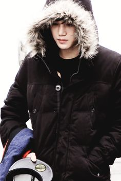 Kai...my baby is cold!