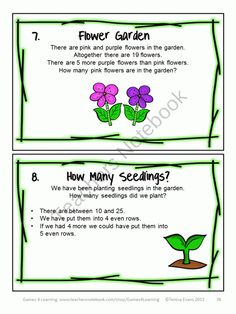 Here are some math brain teasers that will really make them think! Spring Math Games, Puzzles and Brain Teasers from Games 4 Learning. $