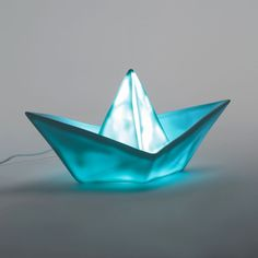 Lampe veilleuse Goodnight light, Paper Boat AM. Paper Boats, Origami Boat, Paper Art, Clouds, Memories, Lights, Kids, Baby, Infant Room