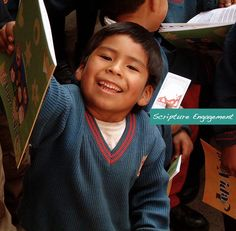"""Our vision is """"God's Word. Every Child.""""  What does that mean? onehope.net"""