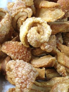 Chicharron de Puerto Rico --- Fried Pork Rinds